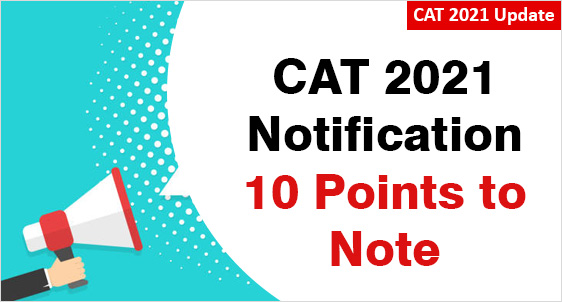CAT 2021 Notification: Check Expected Date