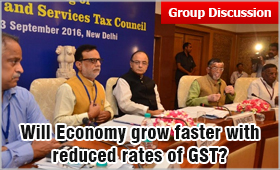 Group Discussion Topic - GST (Goods and Services Tax