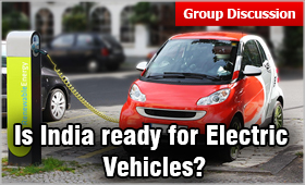 GD Topic: Is India ready for Electric Vehicles | MBAUniverse com