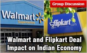 Walmart and Flipkart Deal: Impact on Indian Economy