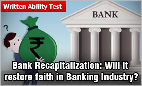 Bank Recapitalization Will It Restore Faith In Banking Industry