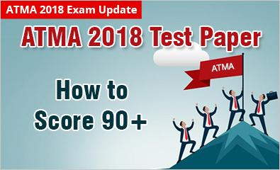 ATMA 2018 Exam pattern and Actual Test Papers