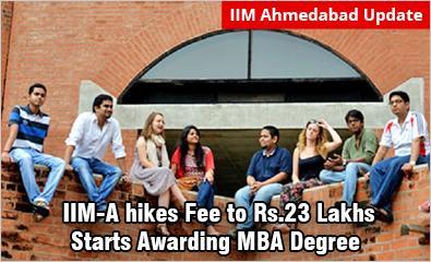 IIM Ahmedabad hikes fee