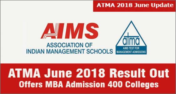 ATMA June 2018 Result