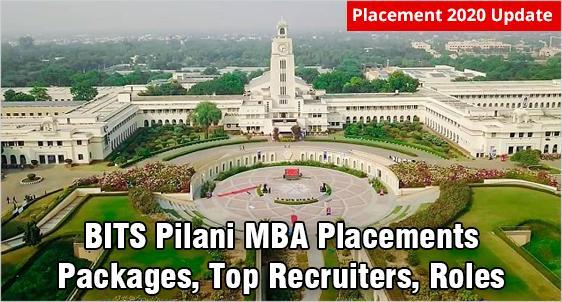 BITS Pilani MBA Placements 2019