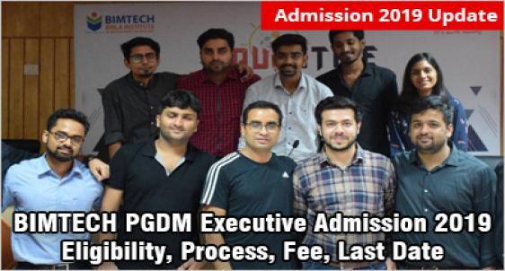 BIMTECH PGDM Executive