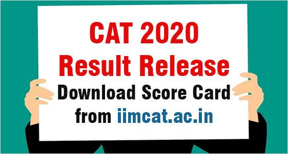 CAT 2020 Result Release
