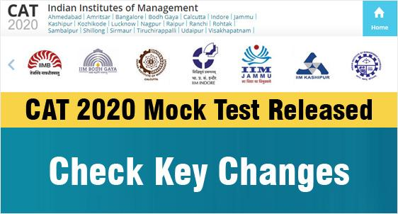 CAT 2020 Official Mock Test Released
