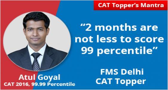FMS Delhi Topper Atul