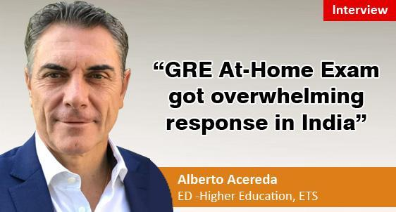 GRE At-Home Exam got overwhelming response in India