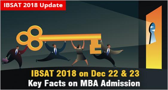 IBSAT 2018 - Know the Key facts for MBA admission 2019