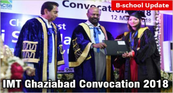 IMT Ghaziabad Convocation 2018