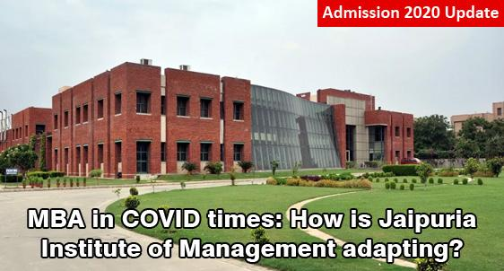 Jaipuria Institute of Management PGDM Admission 2020