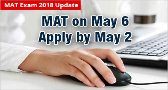 MAT 2018 Submit your Application by May 2
