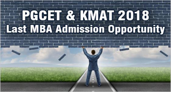 PGCET and KMAT 2018 Karnataka