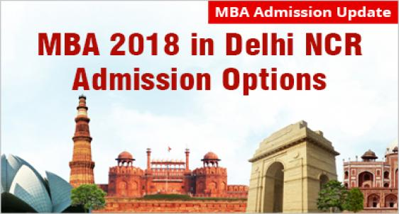 MBA admission in Delhi NCR