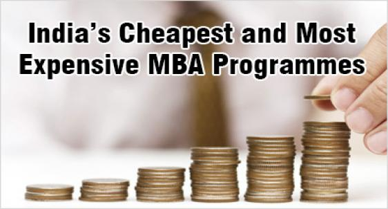 Cheapest and expensive MBA