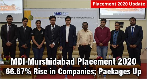 MDI Murshidabad Placement 2020