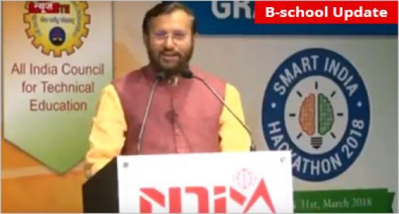 NDIM Delhi hosts HRD Minister Prakash Javadekar