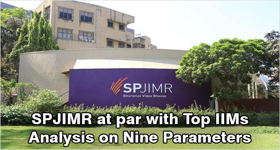 Is SPJIMR really at par with Top IIMs