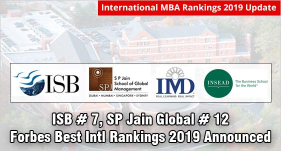 ISB Ranks #7, SP Jain Global #12 in Forbes