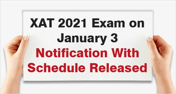 XLRI announces XAT 2021 Exam Date – January 3