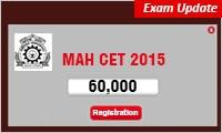 MAH CET 2015: 60000 Register for 44000 seats