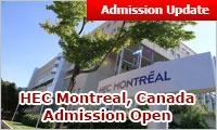 MBA Abroad: HEC Montreal MBA, Canada admission open