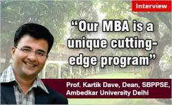 Prof. Kartik Dave Dean, SBPPSE