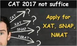 Take more exams with CAT 2017