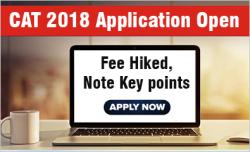 CAT 2018 Application Opens