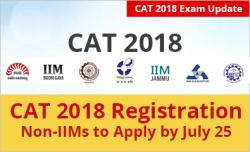 CAT 2018 Non IIMs to complete Registration