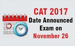 CAT 2017 exam date is Nov 26 | MBAUniverse com