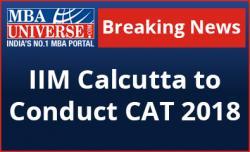 IIM Calcutta to conduct CAT 2018