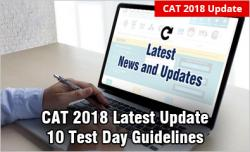 CAT 2018 Latest News and Updates