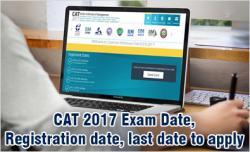 CAT 2017 Exam Date