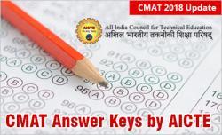 CMAT 2018 Answer key