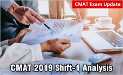 CMAT 2019 Analysis: Slot-1
