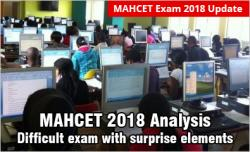 MAH CET 2018 Analysis Day 1