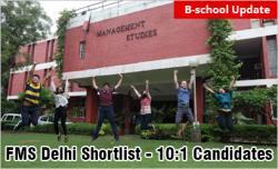 FMS Delhi Shortlist