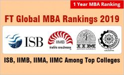 FT Global MBA Rankings 2019
