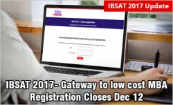 IBSAT 2017 Registration