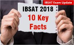 IBSAT 10 Key Facts in MBA Admission 2019