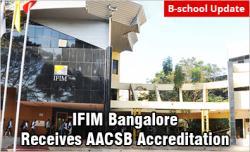 IFIM Bangalore receives AACSB Accreditation