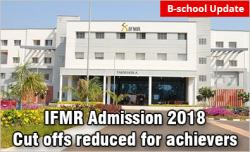 IFMR Admission 2018