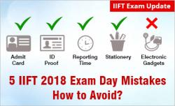 IIFT 2018: 5 Mistakes to Avoid on Exam Day