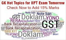 IIFT GK Material 2017