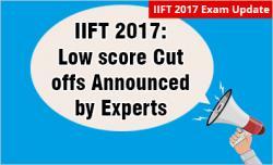 IIFT 2017 Cut offs