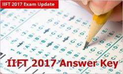 IIFT 2017 Answer Key