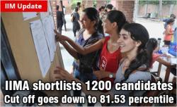 IIM Ahmedabad shortlist